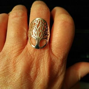Ring - tree of life - sizes 7, 8 and 9